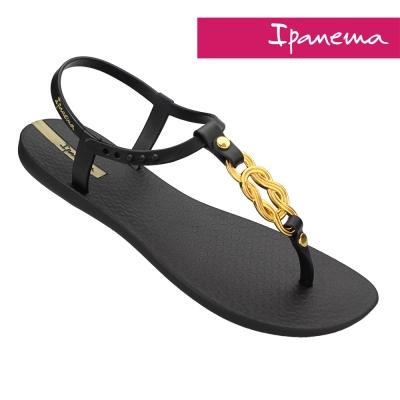 IPANEMA 永恆之戀人字涼鞋-黑色