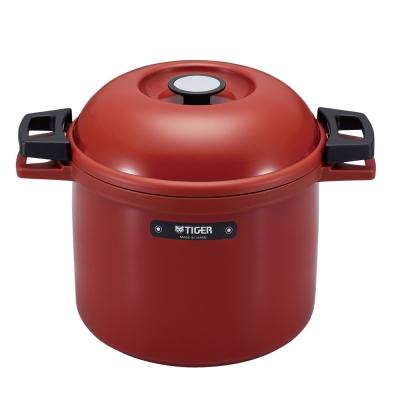 (日本製)TIGER虎牌4.5L附手把悶燒調理鍋(NFH-G450)