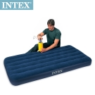 INTEX 單人加大植絨充氣床墊-寬99cm (68757)