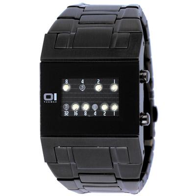 THE ONE 勁彩指標腕錶(IP鋼帶黑/40mm)