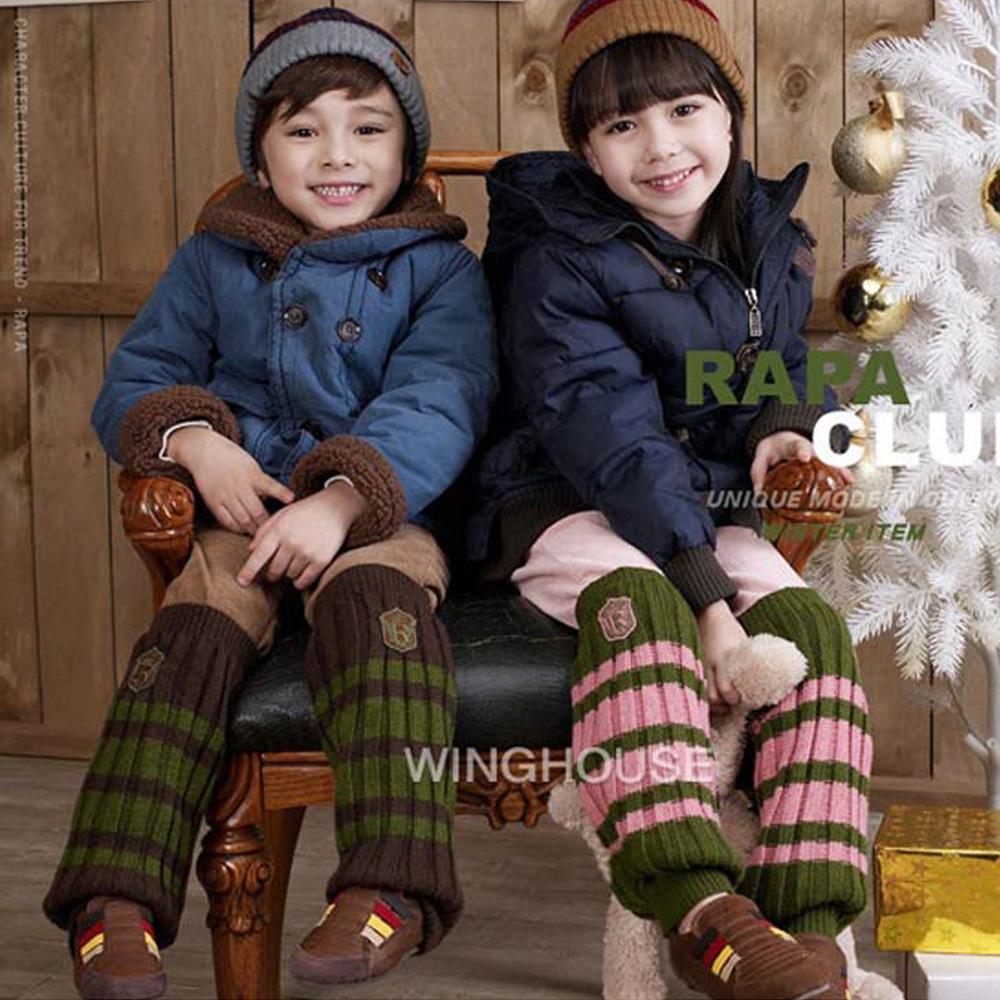 韓版-時尚兒童保暖襪套