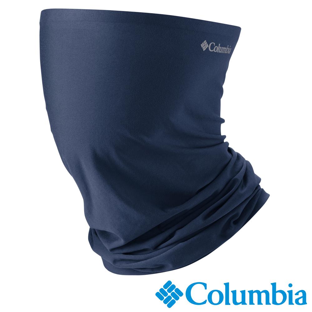 Columbia 哥倫比亞 男女-防曬50涼感快排頸圍 藍色 UCU95040BL