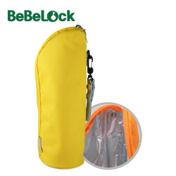 BeBeLock儲存杯保溫袋-黃