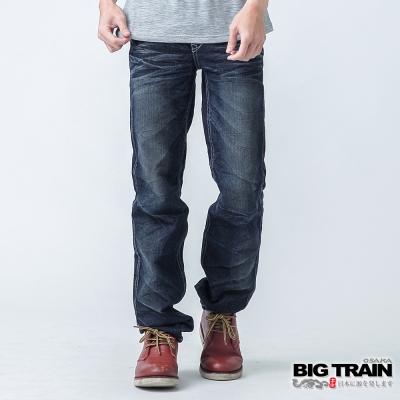BIG TRAIN 惡童小直筒-男-中藍