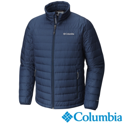Columbia哥倫比亞 男款-TD590羽絨外套-深藍色 UWE00130NY