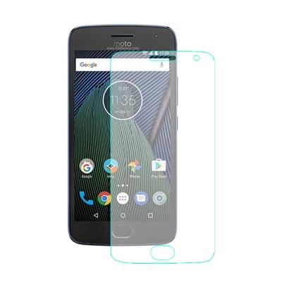 【SHOWHAN】Motorola G5 Plus 9H鋼化玻璃貼疏水疏油高清抗...