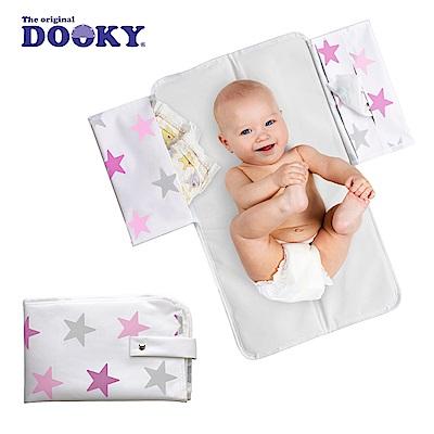 荷蘭dooky-嬰兒外出尿布墊-粉紅星星