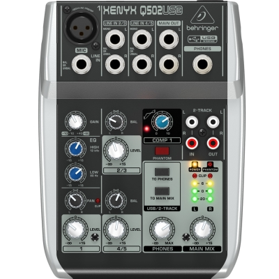BEHRINGER Q502USB 混音器