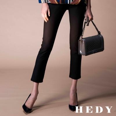 Hedy赫蒂 水鑽彈性長褲(黑色)