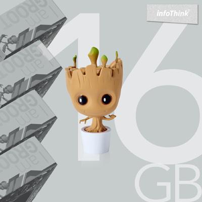InfoThink 星際異攻隊 - GROOT系列造型隨身碟16GB