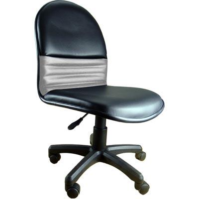 黑灰色 皮辦公椅/電腦椅