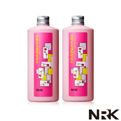 NRK牛爾 玫瑰毛孔溫和收斂水_2入組