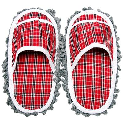 『輕鬆擦』拖地拖鞋2入超值組