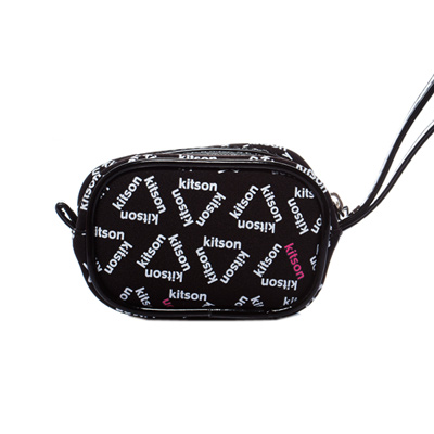 kitson Monogram 數位相機包-BLACK