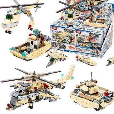 《Special Forces》武裝系列8合1益智組裝DIY積木套組