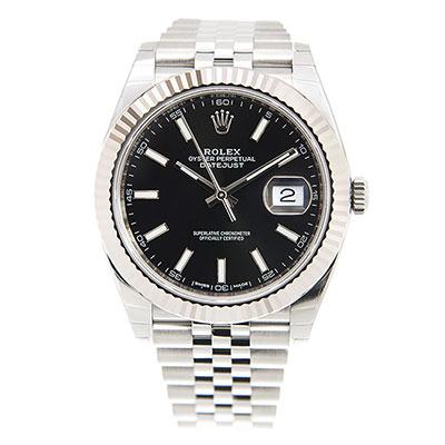 ROLEX 勞力士 Datejust 126334 日誌型機械腕錶x黑面x41mm