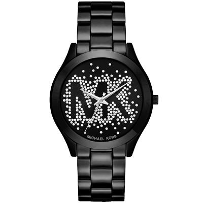 Michael Kors  墜星閃爍晶鑽時尚腕錶-MK3589/42mm