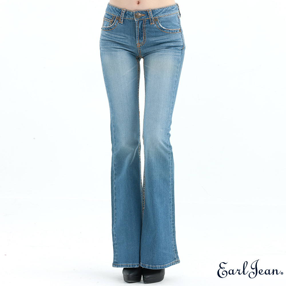 Earl Jean中腰緊身喇叭褲