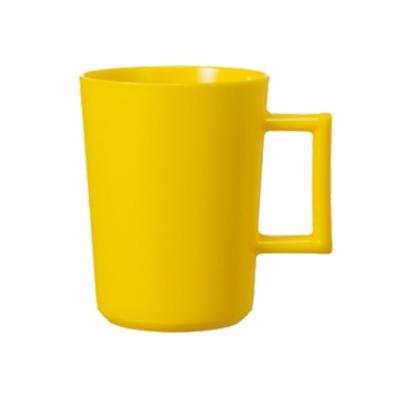 【MARNA】吸盤式漱口杯(黃)
