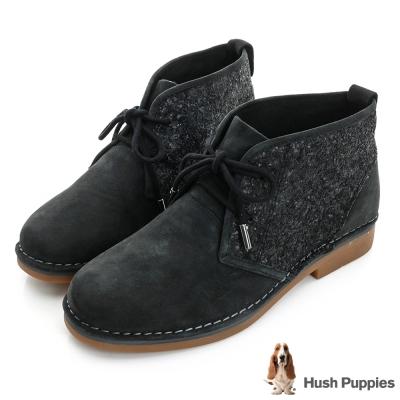 【Hush Puppies】ICON58防潑水沙漠靴(褐麂皮)