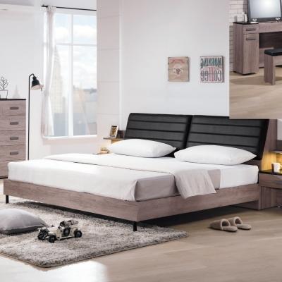 床台 雙人加大6尺 克拉拉 床頭箱+床底 不含床墊 品家居