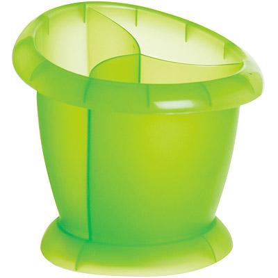 EXCELSA 三格餐具瀝水筒(綠)