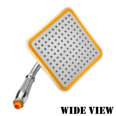 WIDE VIEW 空氣增壓8寸頂噴手持蓮蓬頭(ZU-SH05)