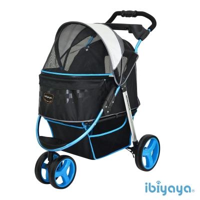 IBIYAYA依比呀呀-尊爵號鋁合金寵物推車-極光藍(FS1616)