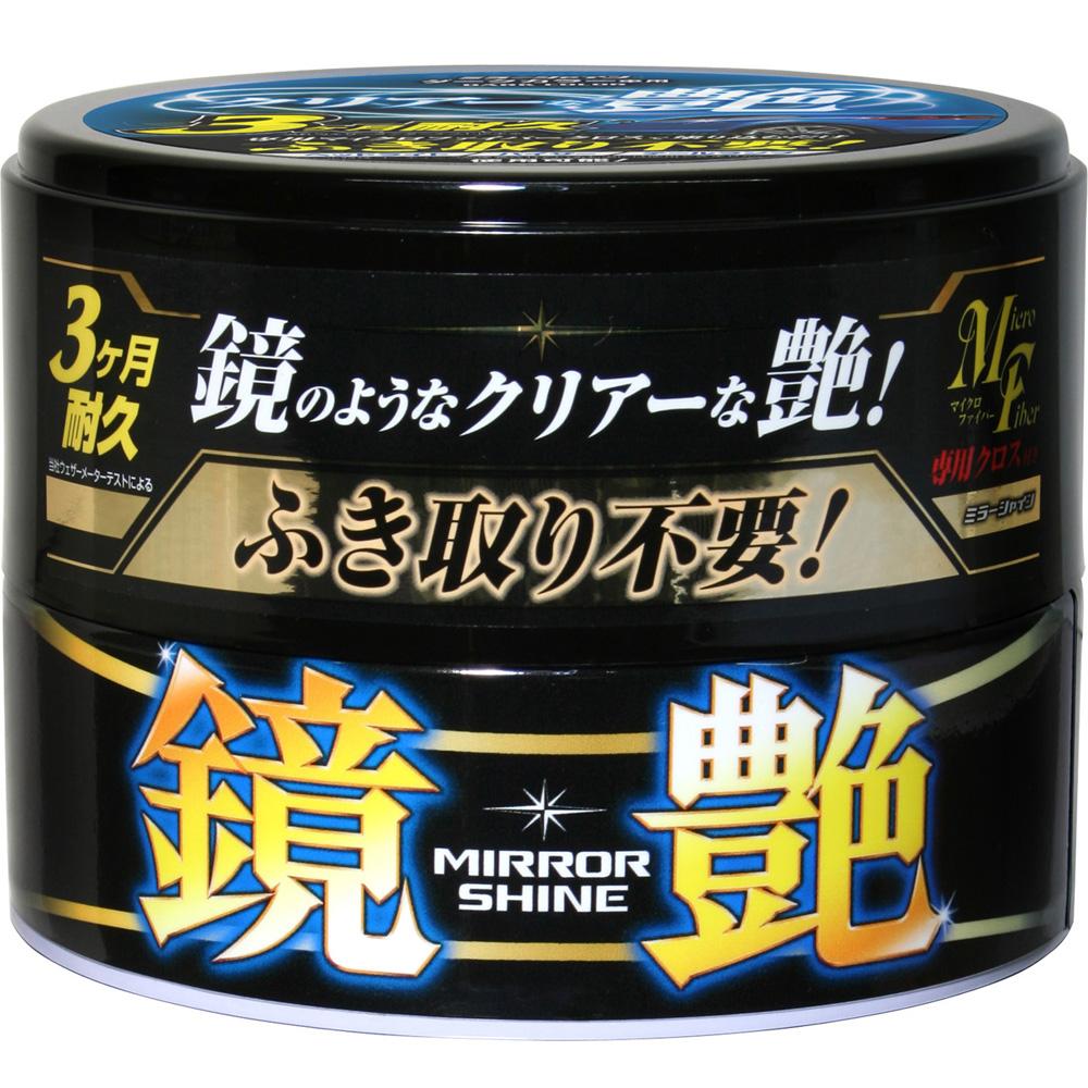 日本SOFT 99 鏡艷固蠟(深色車用)-急速配