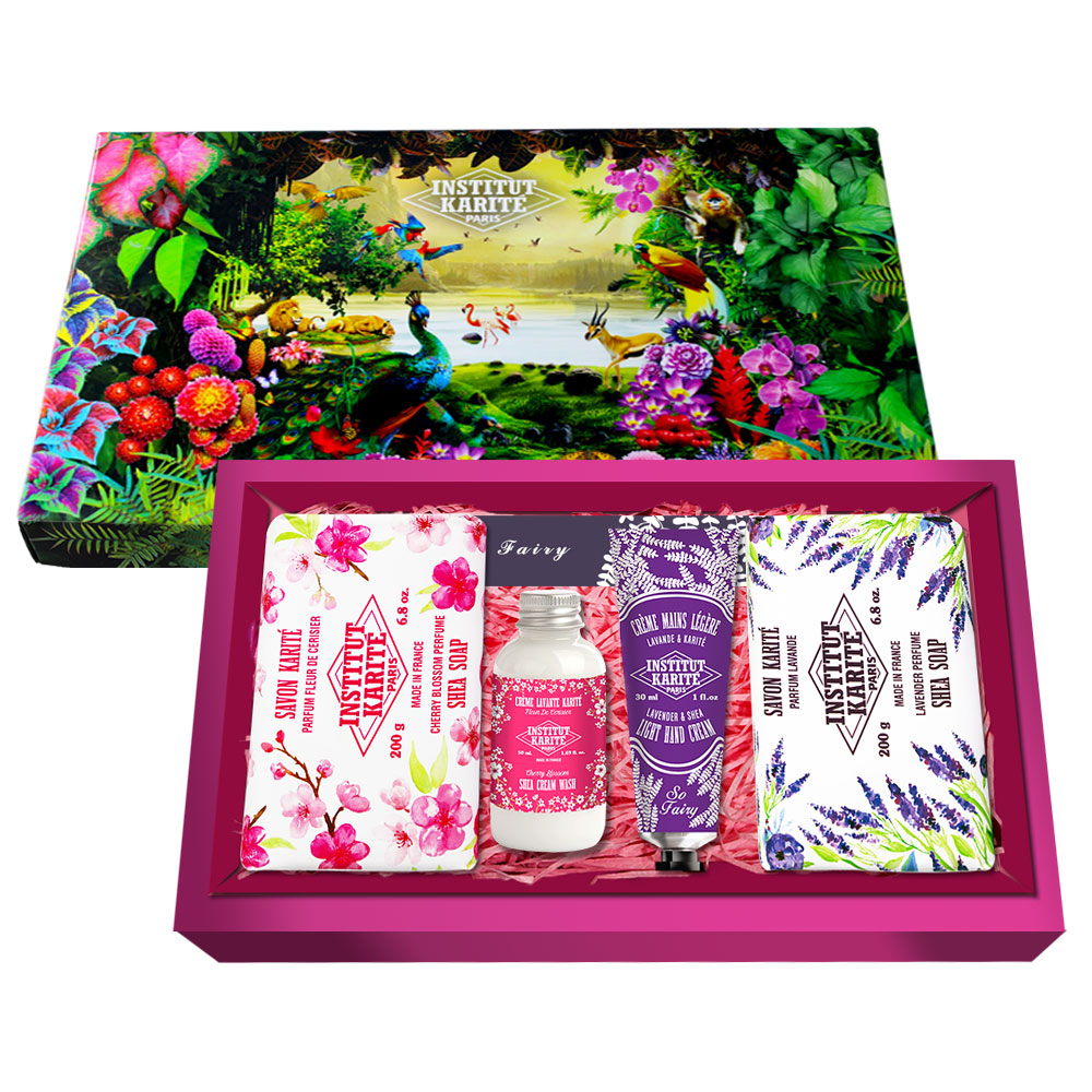Institut Karite Paris巴黎乳油木香氛組禮盒-9