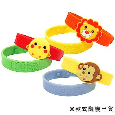 美國 Nuby 兒童防蚊手環(款式隨機出貨) 2入x2組