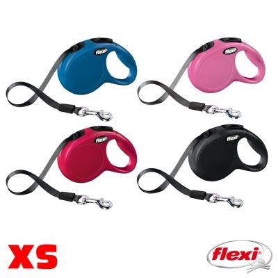 【飛萊希】flexi 進化系列 伸縮牽繩 帶狀 XS號