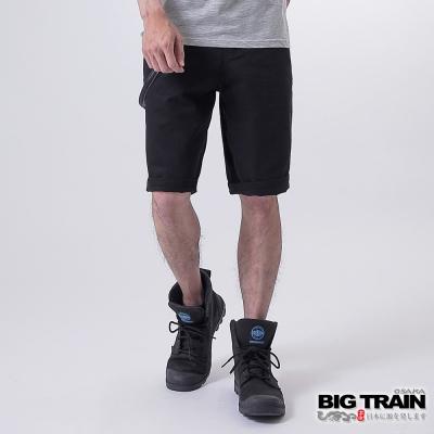 BIG TRAIN BT配繩短褲-男-黑色