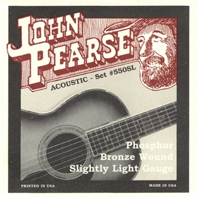 JOHN PEARSE JPXF-550SL 民謠吉他套弦