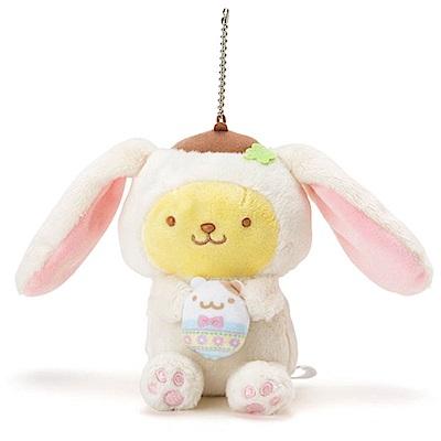 Sanrio 布丁狗裝扮長耳兔造型玩偶吊鍊(好朋友彩蛋)