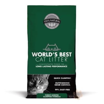 World'sBestCatLitter世嘉貓砂 森林花草凝結 6磅