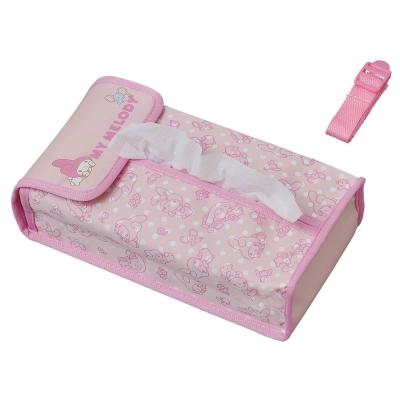Sanrio 美樂蒂防潑水車用面紙盒套