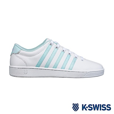 K-swiss Court Pro II CMF休閒運動鞋-女-白/粉綠