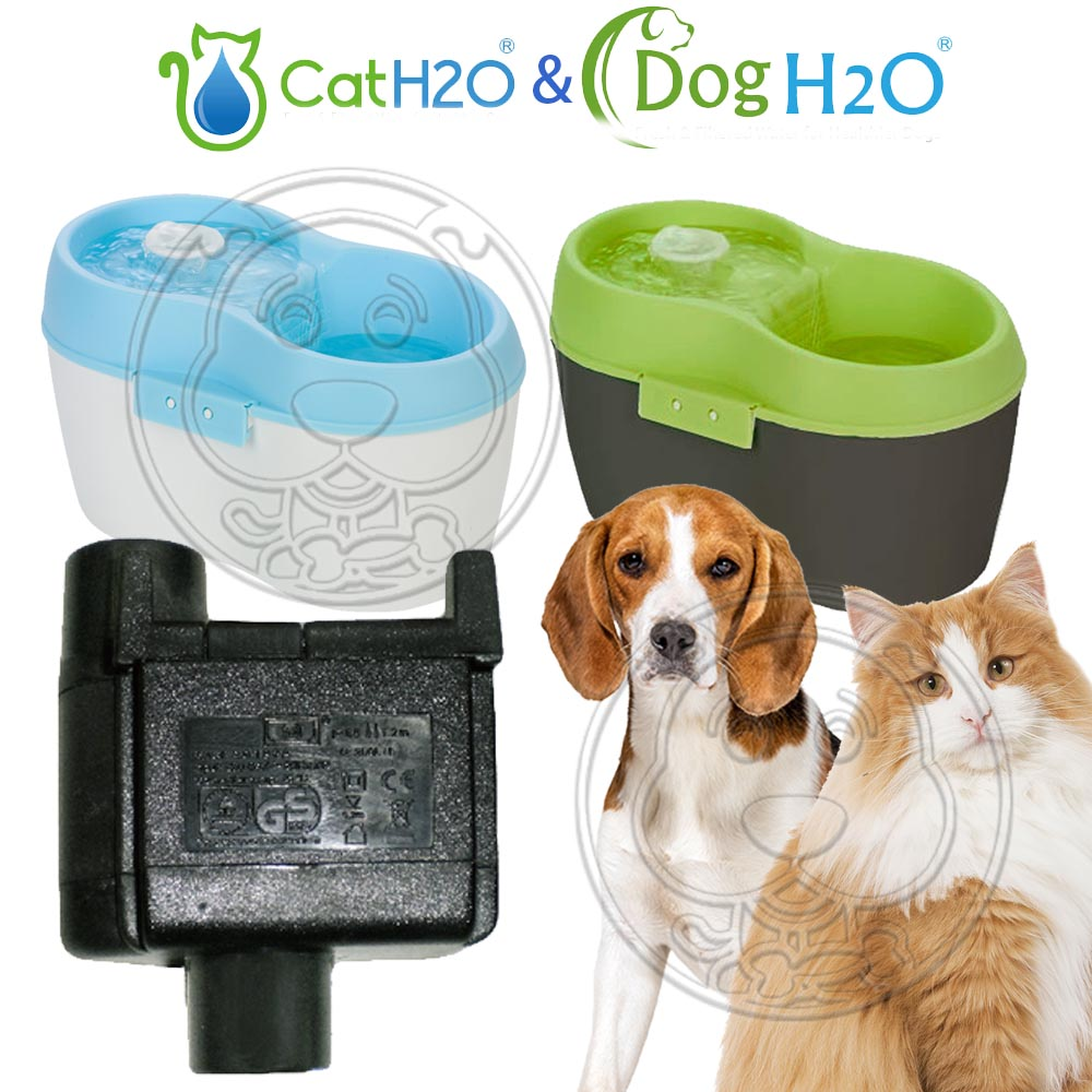 Dog&Cat H2O有氧濾水機-靜音水泵馬達DC-04