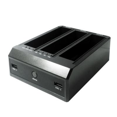 伽利略 USB3.0 2.5吋、3.5吋3插槽硬碟座