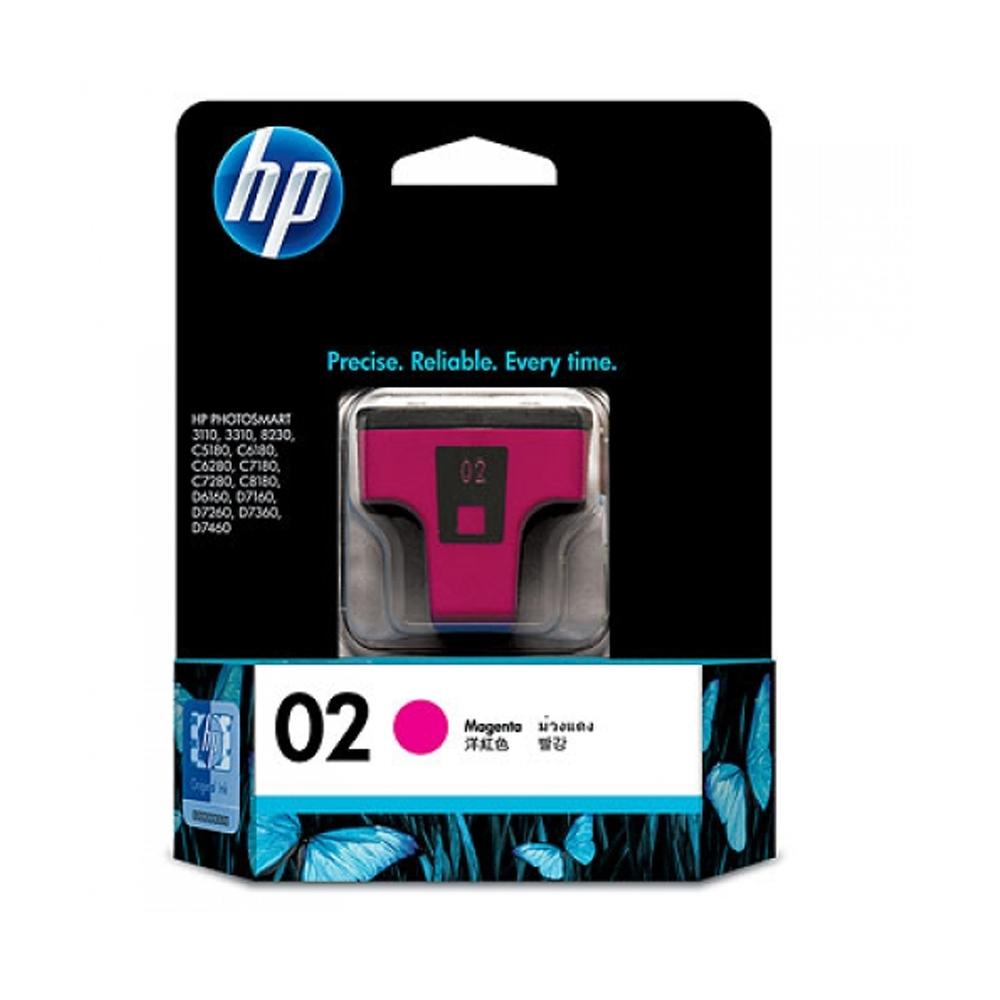 HP C8772WA NO.02 原廠洋紅墨水匣(一入)