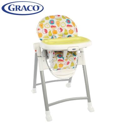 Graco-可調式高低餐椅-Contempo-水果