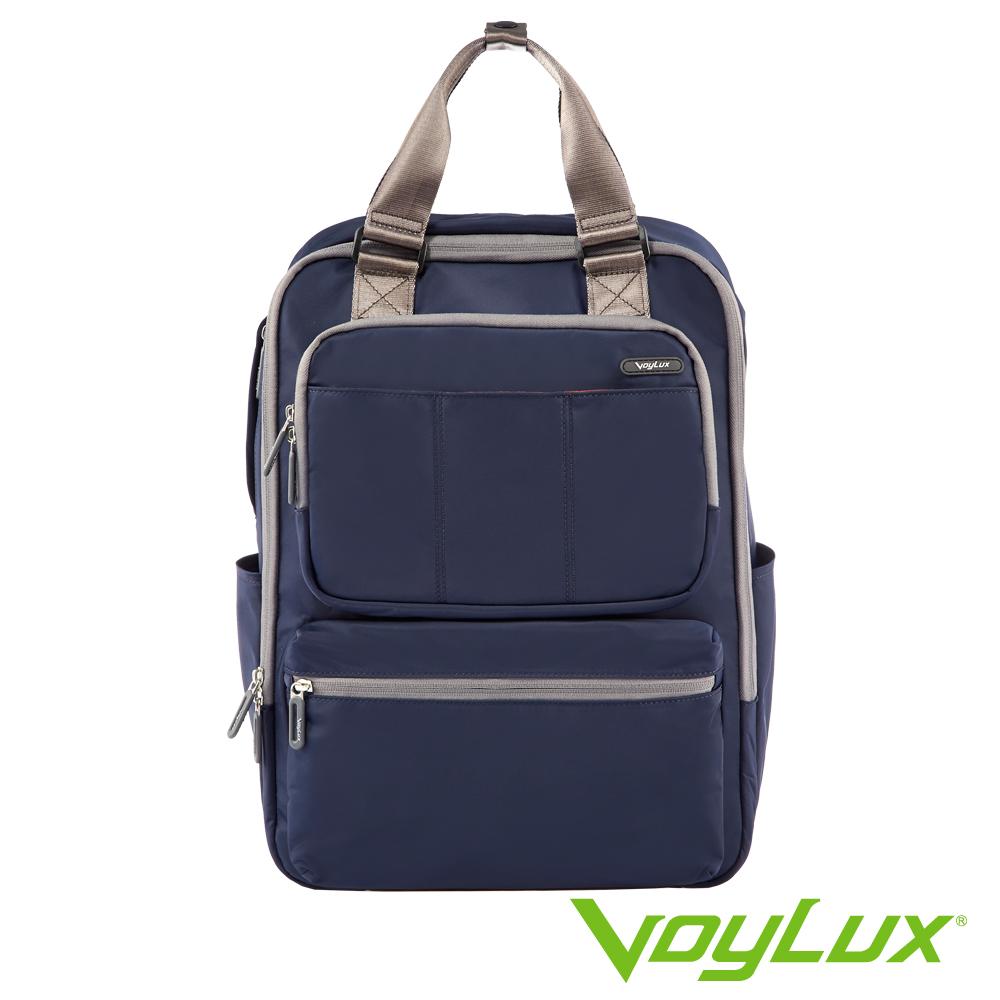 VoyLux伯勒仕-VAPOR系列-細丹尼輕量四方背包-3680519-海軍藍