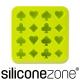 Siliconezone 施理康耐熱撲克造型巧克力模/冰模-綠色 product thumbnail 1