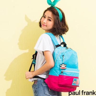 paul-frank-青春校園5th太空衣系列-後背包-中-水藍色