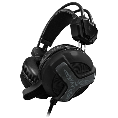 T.C.STAR 電競玩家頭戴式耳機麥克風(TCE9030BK)