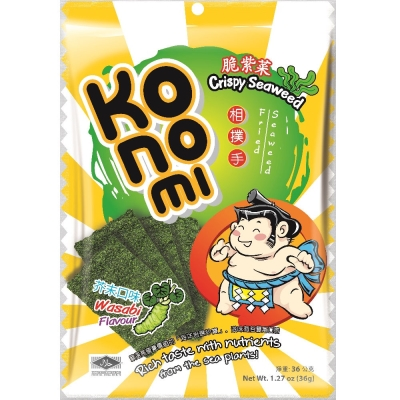 KoNoMi相撲手 脆紫菜-芥末口味(36g)