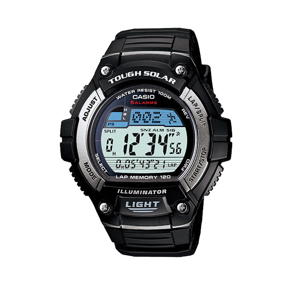 CASIO 陽光遊俠電子運動錶(W-S220-1A)-51.7mm