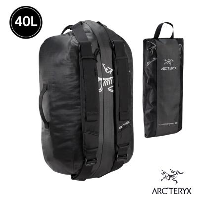 Arcteryx 始祖鳥 24系列 Carrier 40L 旅行袋 裝備袋  黑