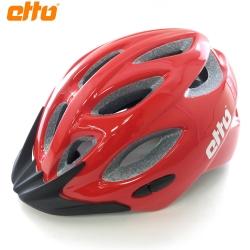 ETTO 挪威 Bernina 自行車兒童安全帽-紅